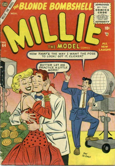 Millie the Model 64 Cover Image