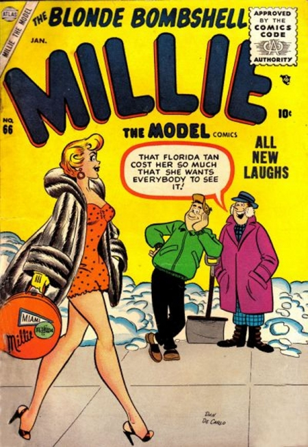 Millie the Model 66 Cover Image