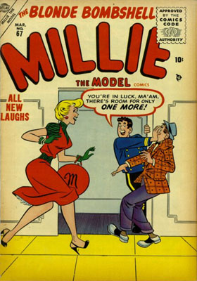 Millie the Model 67 Cover Image
