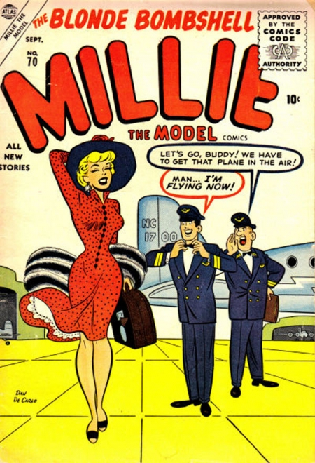 Millie the Model 70 Cover Image