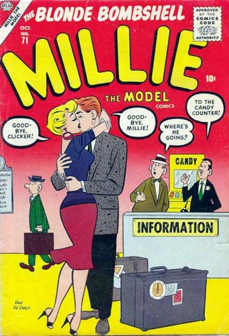 Millie the Model 71 Cover Image