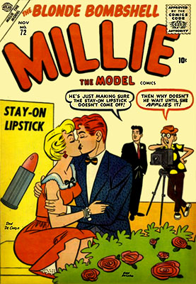 Millie the Model 72 Cover Image