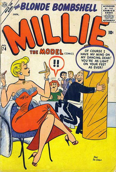 Millie the Model 74 Cover Image