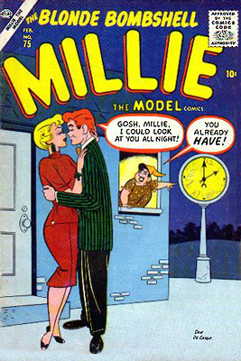 Millie the Model 75 Cover Image