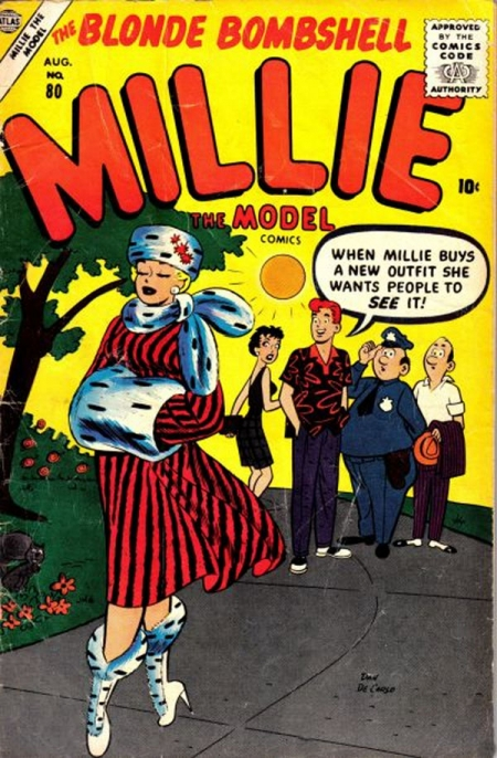 Millie the Model 80 Cover Image