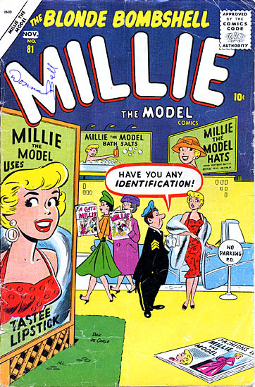 Millie the Model 81 Cover Image