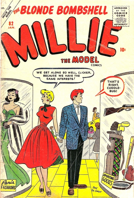 Millie the Model 82 Cover Image
