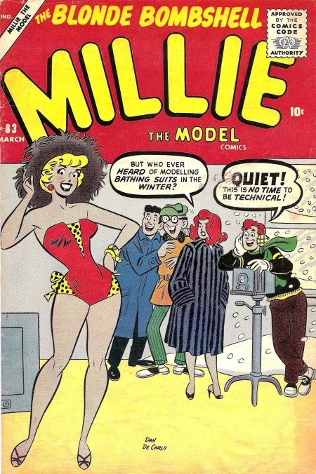 Millie the Model 83 Cover Image