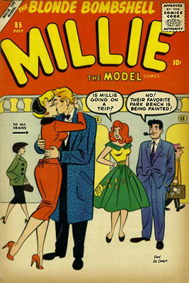 Millie the Model 85 Cover Image