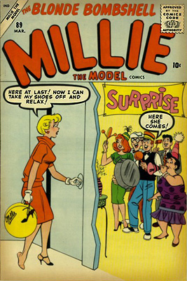 Millie the Model 89 Cover Image