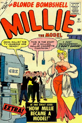 Millie the Model 91 Cover Image