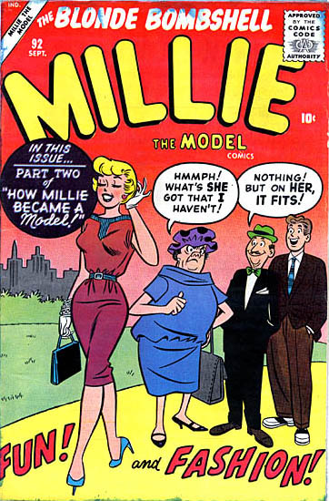 Millie the Model 92 Cover Image