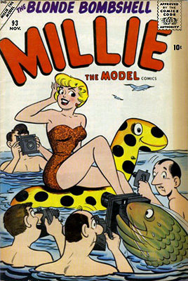Millie the Model 93 Cover Image
