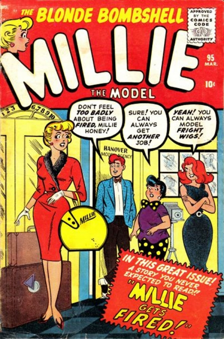Millie the Model 95 Cover Image