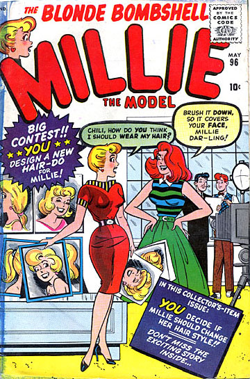 Millie the Model 96 Cover Image