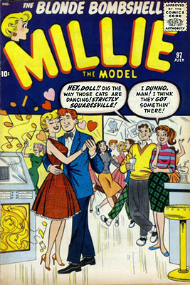 Millie the Model 97 Cover Image