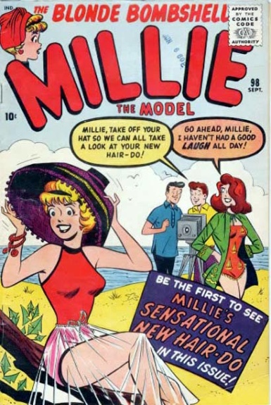 Millie the Model 98 Cover Image