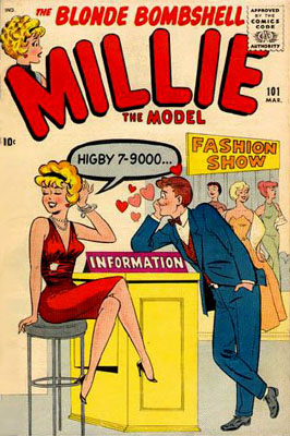 Millie the Model 101 Cover Image