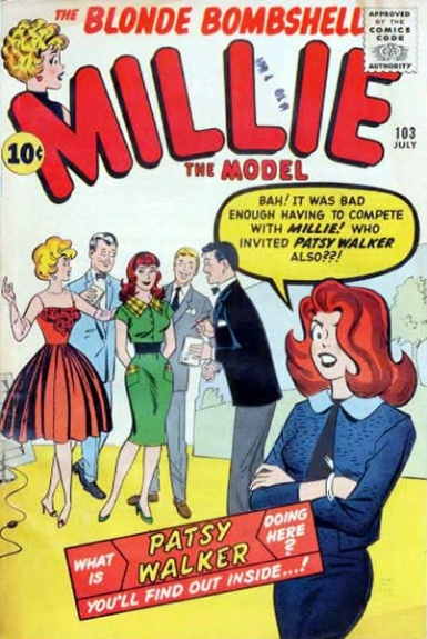 Millie the Model 103 Cover Image