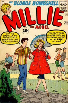 Millie the Model 105 Cover Image