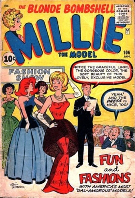 Millie the Model 106 Cover Image
