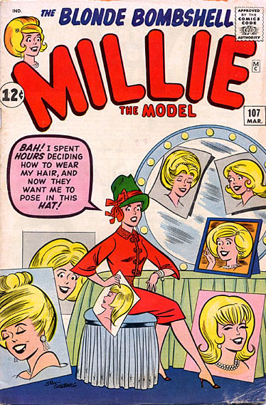Millie the Model 107 Cover Image