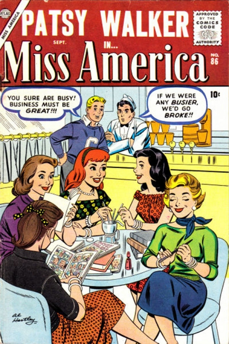Miss America 86 Cover Image