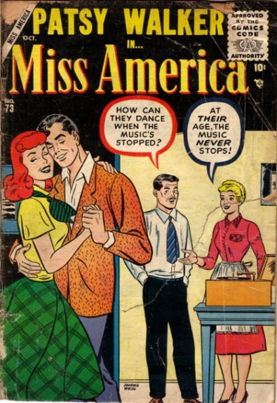 Miss America 73 Cover Image