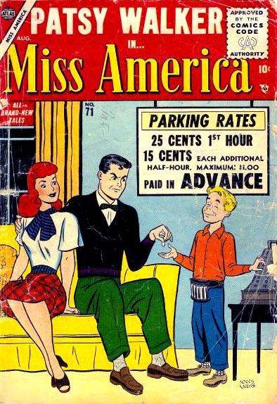 Miss America 71 Cover Image