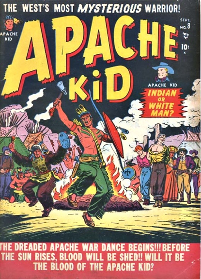 Apache Kid 8 Cover Image