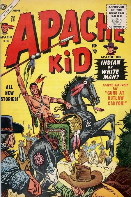Apache Kid 14 Cover Image