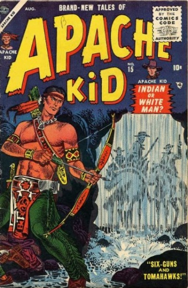 Apache Kid 15 Cover Image