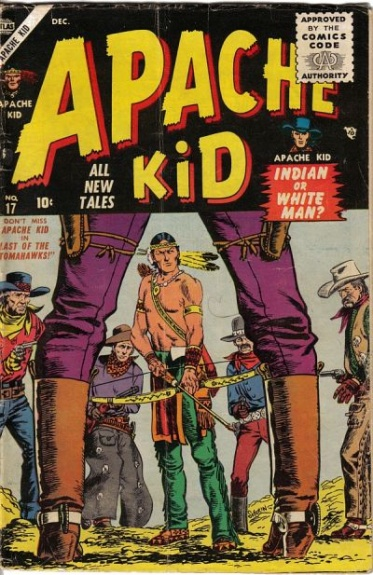 Apache Kid 17 Cover Image