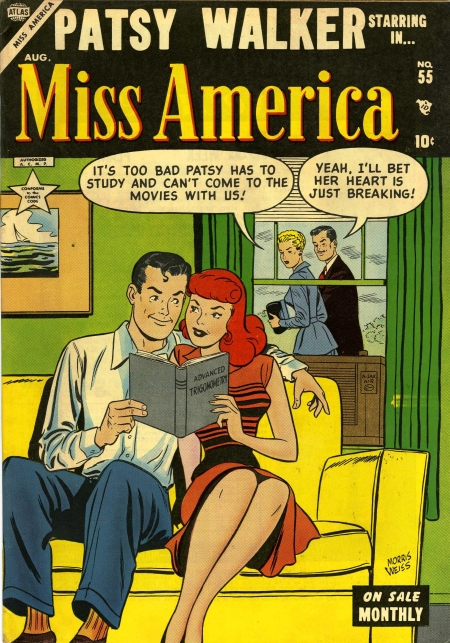 Miss America 55 Cover Image
