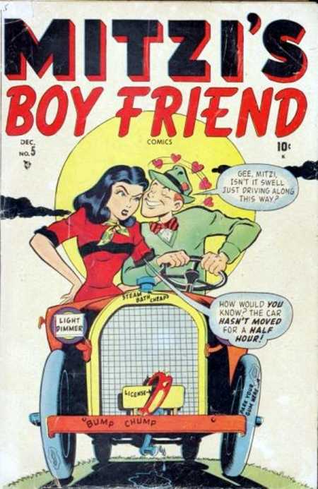 Mitzi's Boy Friend 5 Cover Image