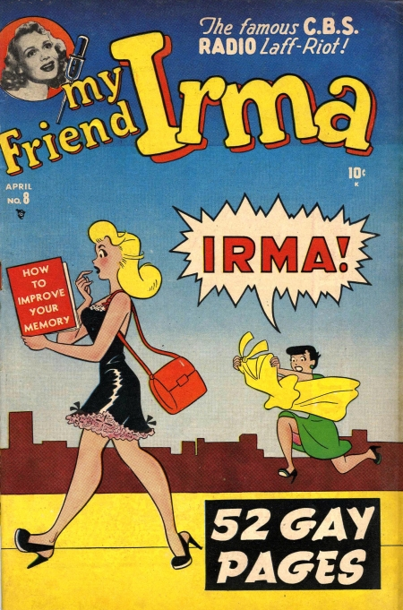 My Friend Irma 8 Cover Image