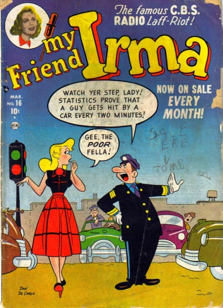 My Friend Irma 16 Cover Image