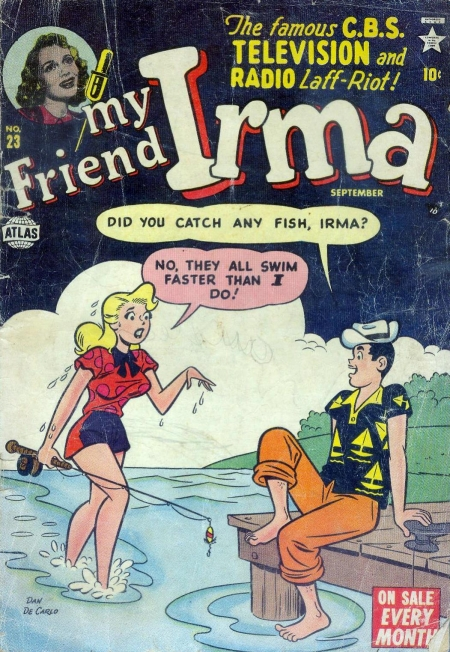 My Friend Irma 23 Cover Image