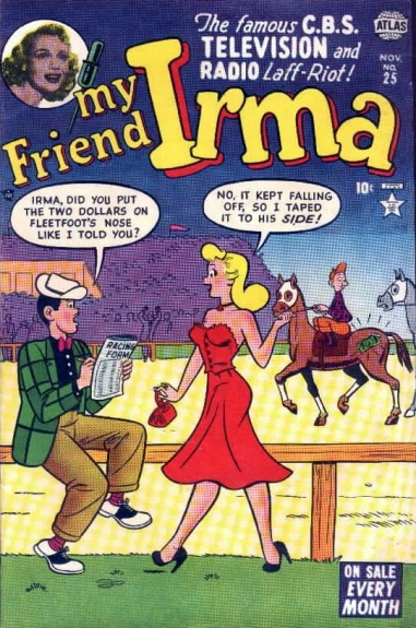 My Friend Irma 25 Cover Image