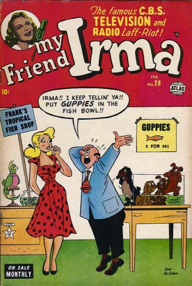 My Friend Irma 28 Cover Image