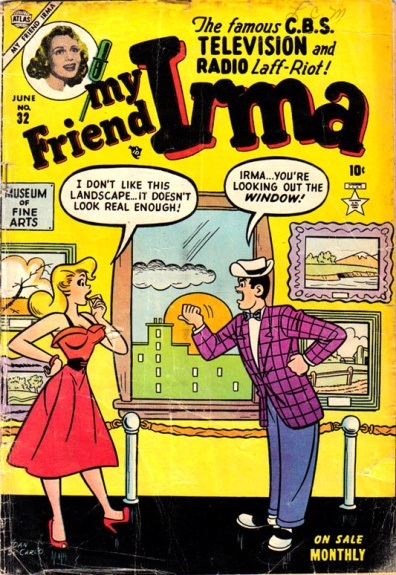 My Friend Irma 32 Cover Image