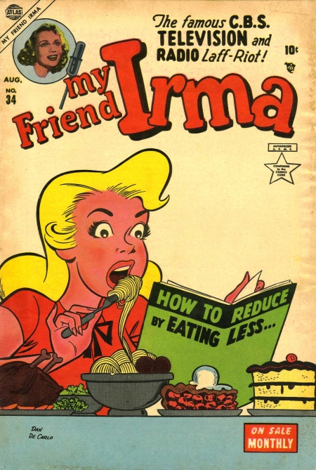 My Friend Irma 34 Cover Image