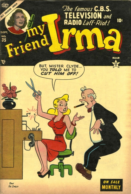 My Friend Irma 35 Cover Image
