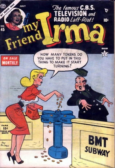 My Friend Irma 45 Cover Image
