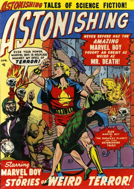 Astonishing 3 Cover Image