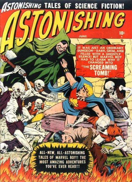 Astonishing 4 Cover Image