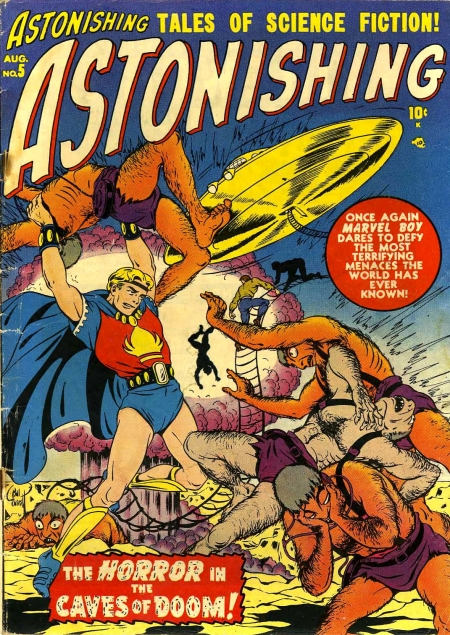Astonishing 5 Cover Image
