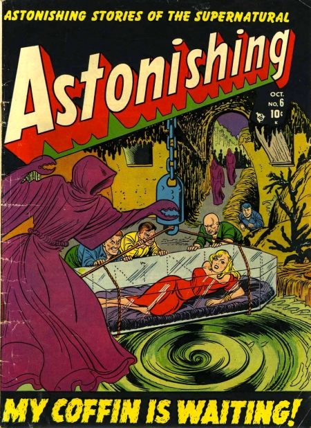Astonishing 6 Cover Image