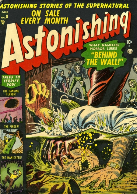 Astonishing 8 Cover Image