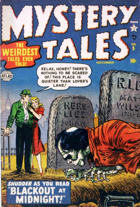 Mystery Tales 5 Cover Image